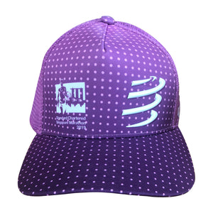 2019 Singapore Marathon Pink Trucker Hat