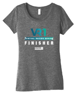 SCSM VR1 Women's Finisher Tee - Grey