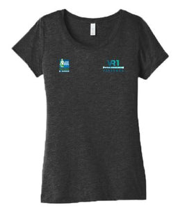 SCSM VR Women's VR1  Tee - Charcoal Black