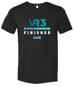 SCSM VR Men's VR3 Graphic Tee - Charcoal Black