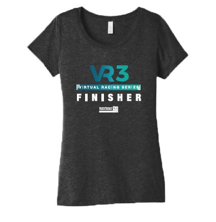 SCSM VR3 Women's Graphic Tee - Charcoal Black