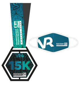 SCSM VR4 -15km Finisher Medal