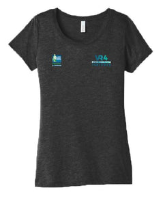 SCSM VR4 Women's Tee - Charcoal Black