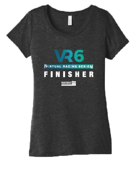 SCSM VR6 Women's Graphic Tee - Charcoal Black