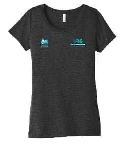 SCSM VR6 Women's Tee - Charcoal Black