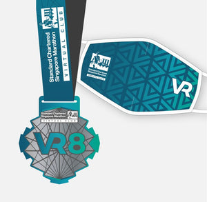 SCSM VR 8 Finisher Medal