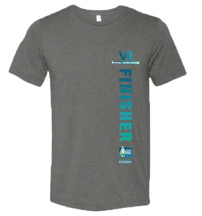 SCSM VR Men's Finisher Tee - Grey