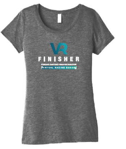 SCSM VR Women's Finisher Tee - Grey