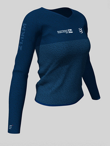 2019 Singapore Half-Marathon - 21.1km Women's Long Sleeve Name Tee