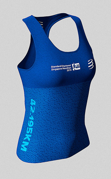 2019 Singapore Marathon - 42.2km Women's Name Singlet