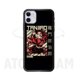 Case Iphone Diseño Tanjiro Deamon Slayer