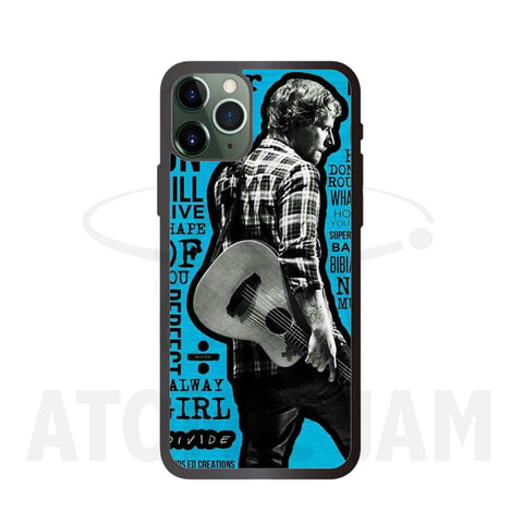 Case Iphone Diseño Ed Sheeran Divide - Atomic Jam