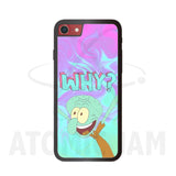 Case Iphone Diseño Calamardo Tentaculos Why? - Atomic Jam