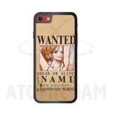 Case Iphone Diseño Nami Wanted One Piece - Atomic Jam