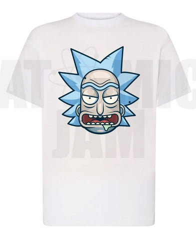 Playera Diseño Rick Y Morty Rick´s Face - Atomic Jam