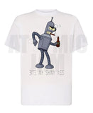 Playera Diseño Bender Futurama - Atomic Jam