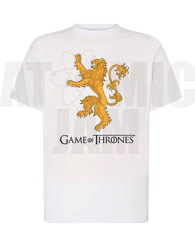 Playera Diseño Game Of Thrones Casa Lanister - Atomic Jam
