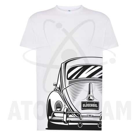 Playera Diseño Old School Volkswagen
