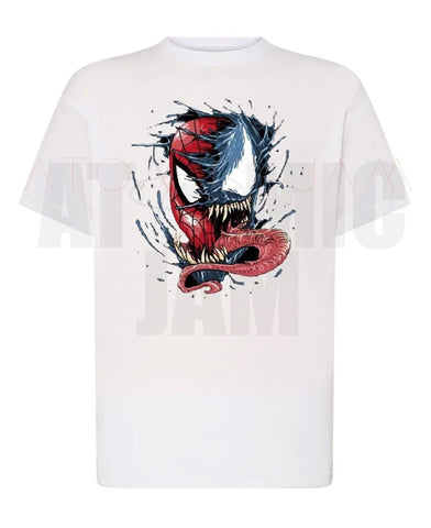 Playera Diseño Spiderman-Venom - Atomic Jam
