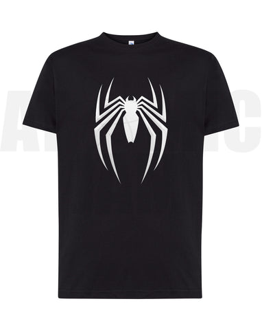 Playera Diseño Spiderman Negro - Atomic Jam