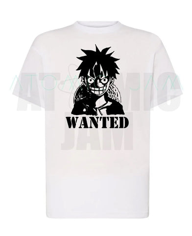 Playera Diseño Wanted Luffy One Piece - Atomic Jam