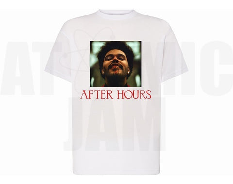 Playera Personalizado Diseño After Hours The Weeknd - Atomic Jam