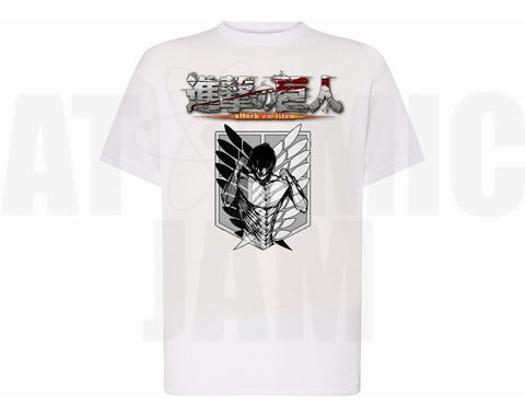 Playera Personalizado Diseño Attack On Titans Eren Gren - Atomic Jam