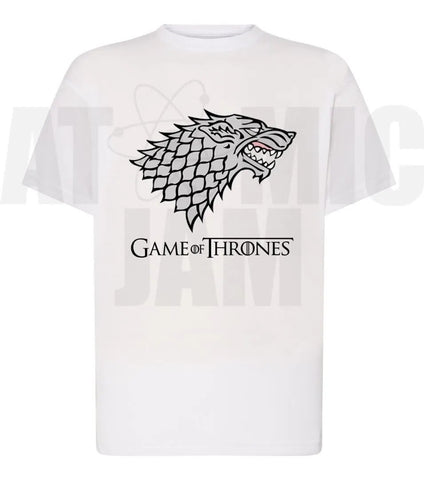 Playera Diseño Game Of Thrones Casa Stark - Atomic Jam