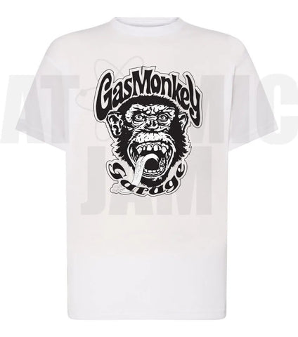 Playera Diseño Gas Monkey - Atomic Jam