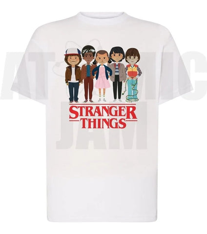 Playera Diseño Stranger Things Personaje Kawai - Atomic Jam