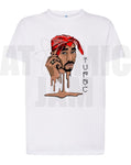 Playera Diseño Tupac Shakur Liquid HipHop - Atomic Jam