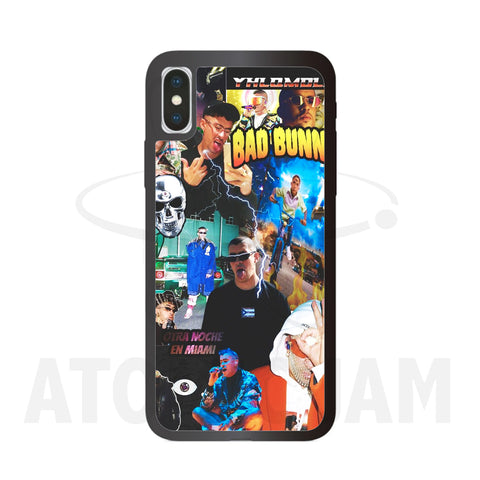 Case Iphone Diseño Bad Bunny Albumes - Atomic Jam