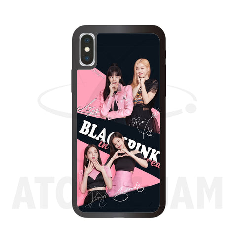 Case Iphone Diseño Black Pink K-Pop - Atomic Jam