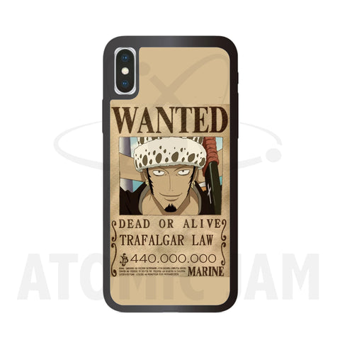 Case Iphone Diseño Trafalgar D Law Wanted One Piece - Atomic Jam