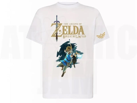 Playera Diseño Zelda Breath Of The Wild Link - Atomic Jam