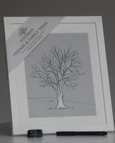 MB Friends & Family Tree Print-Irish Ash