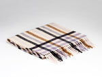 McNutt Lambswool Scarf - Milk & Honey Herringbone