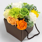 AW Soap Flower Boxed Bouquet - Spring Flowers