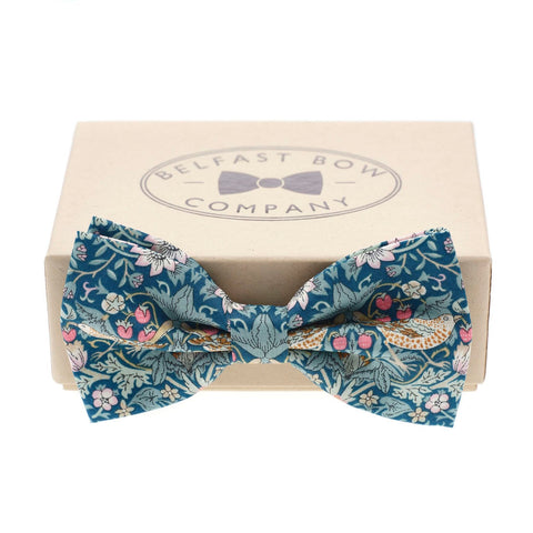 Belfast Bow Co Handmade Liberty Of London Bow Tie-Green