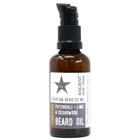 AW 50ml Beard Oil - Spartan Hero
