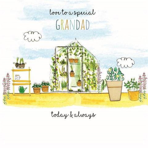 Laura Sherratt Love To A Special Grandad Card
