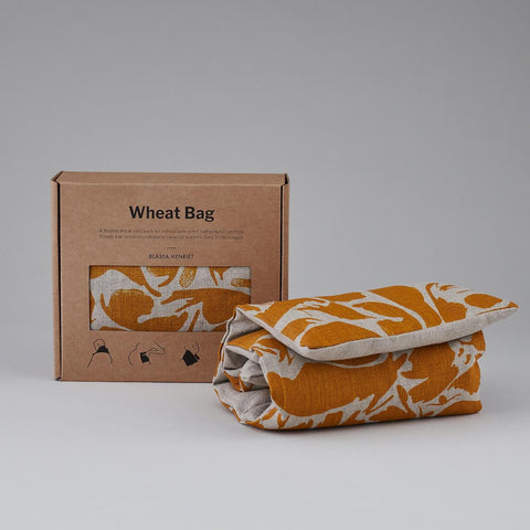 Blasta Henriet Wheat Heat Bag Linen-Yellow Creatures
