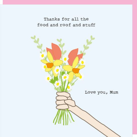 RMT Mother's Day Thanks For All The Food Card