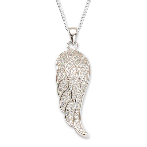 SPK Angel Wing Pendant