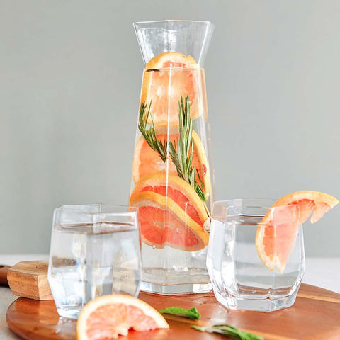 RT7 Geo Glass Tumbler & Carafe