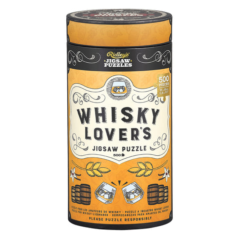 W&W Whiskey Jigsaw Puzzle