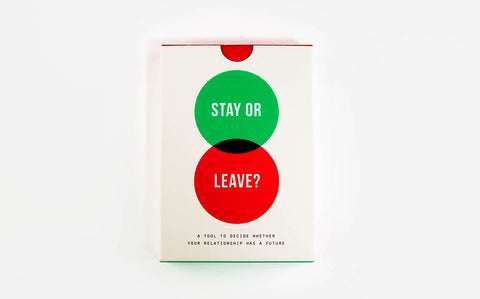 SOL Stay Or Leave Card Game