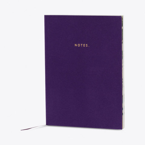 Sweet & Sour Purple Velvet Notebook