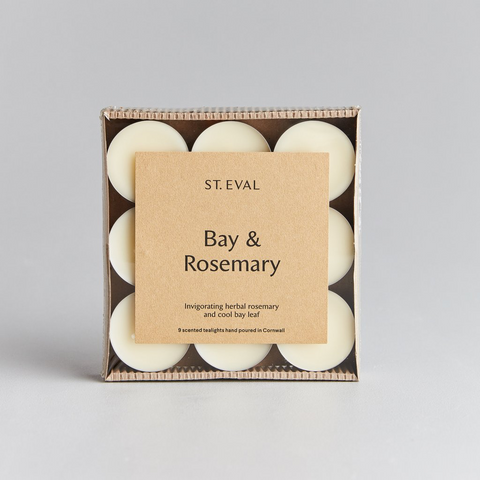 St Eval Scented Tealights-Bay & Rosemary
