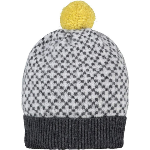Catherine Tough Lambswool Mens Bobble Hat